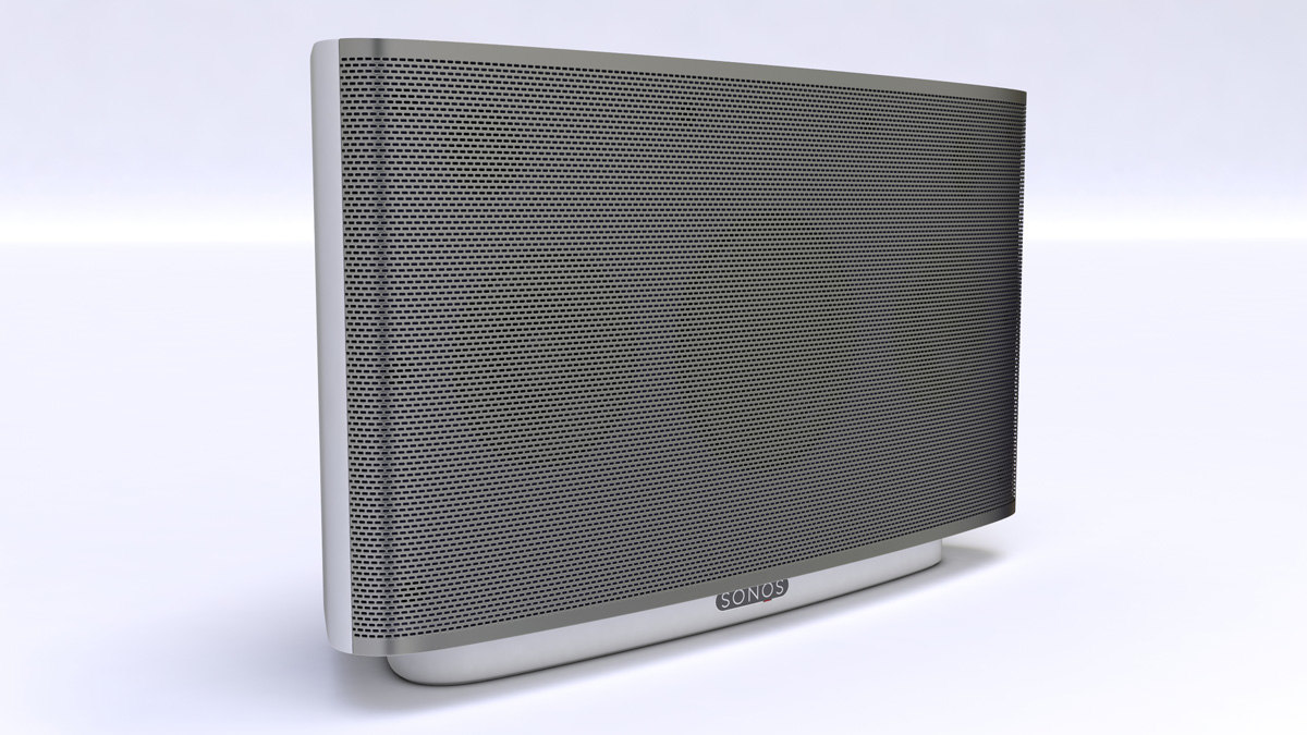 3d model of sonos zone player s5