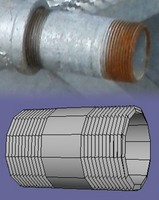 3d model of basic pipe conduits