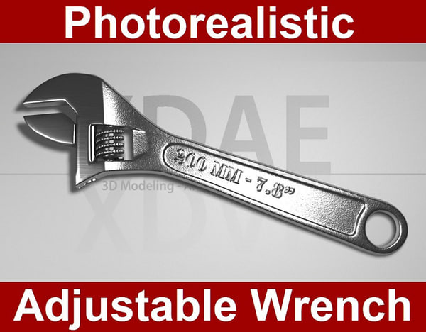 adjustable wrench max