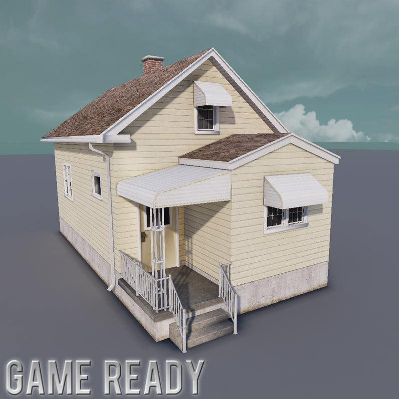 small house games 3d model