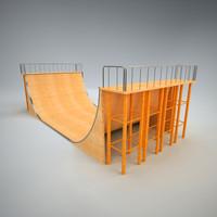 Skatepark Ramp 1
