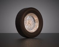 Wire Wheel & Bias Ply Tire