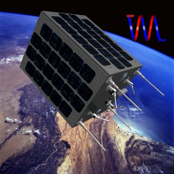 zafar satellite iran 3d model