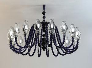 venini chandelier 3d max