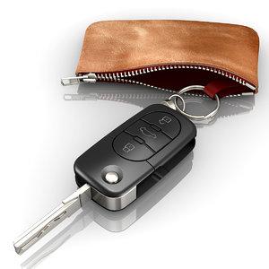 3ds modeled audi car key