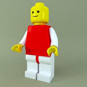 obj lego man