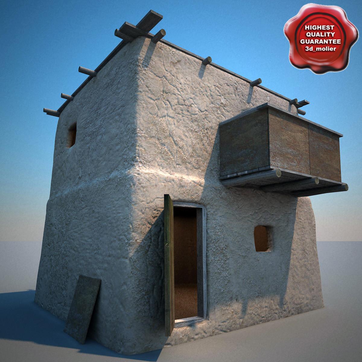 3d max afghanistan house v7