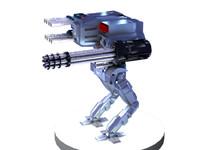 3d model mech weapons