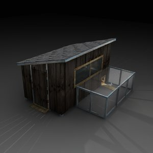 max old macabre chicken coop