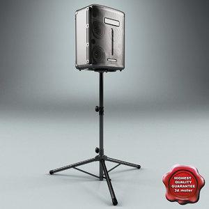 max dj speaker roland stand