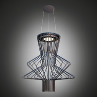 3d lamp foscarini allegro model