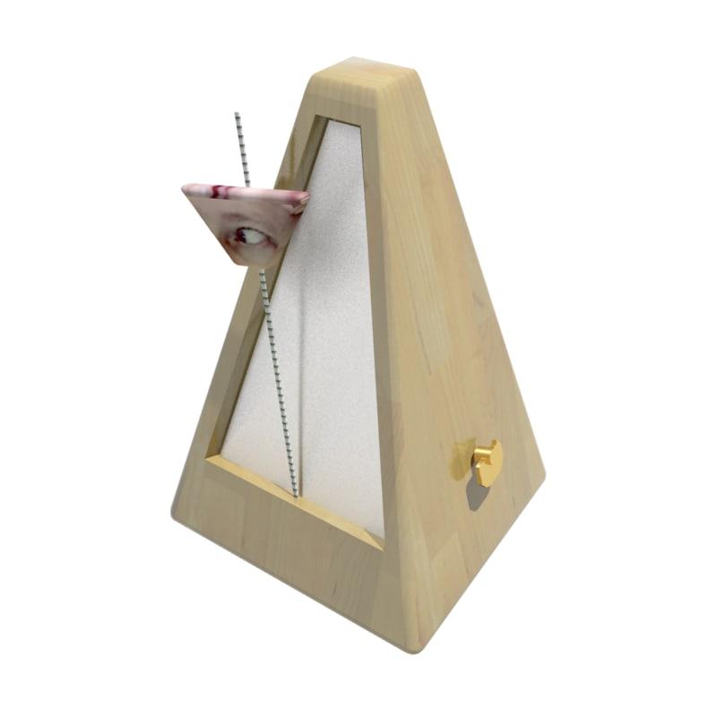 3d max manray metronome