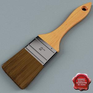 3d paint brush v2 model