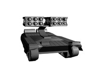free tank sam site 3d model