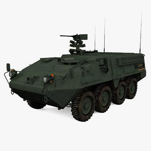 m1126 stryker 3d 3ds