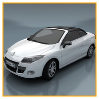 3d max renault megane coupe