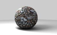 c4d stones materials