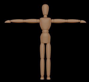 3d mannequin model