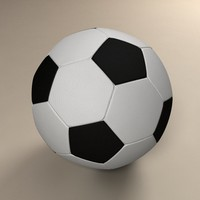 3ds soccer ball