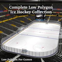 3ds complete ice hockey arena