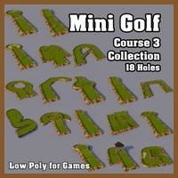 Mini Golf Course 3 Collection