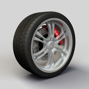 alloy ion 151 rims 3d model