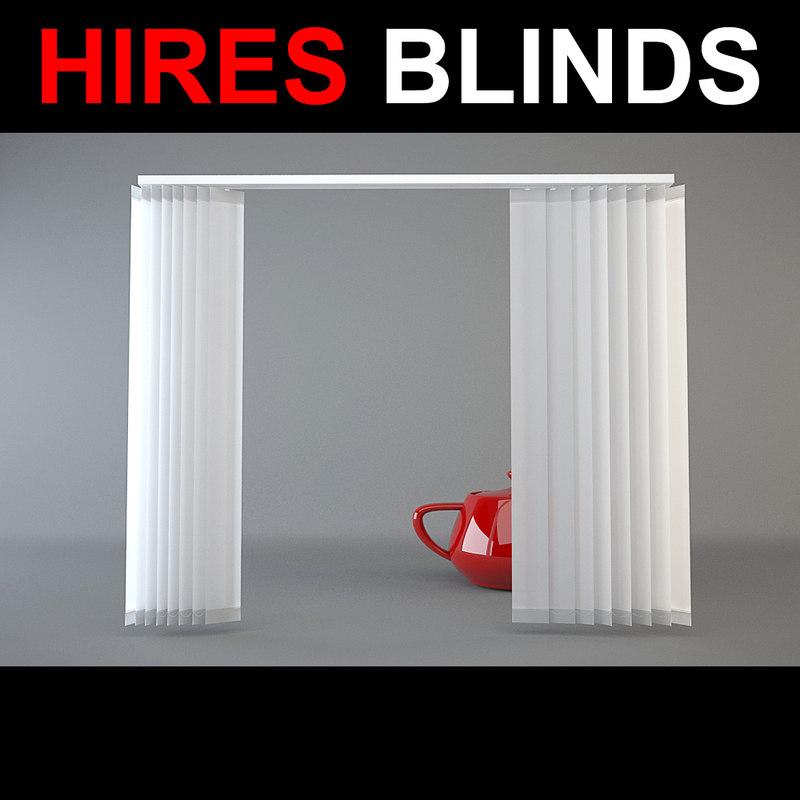 3d model of blinds