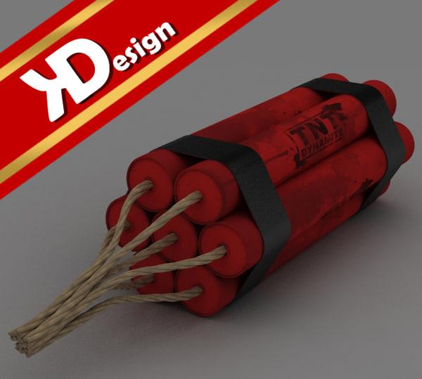 3ds max tnt dynamite