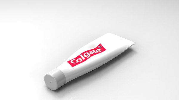 toothpaste tooth paste 3d model