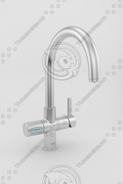 kitchen faucet 3d model