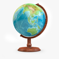 3d globe high-res