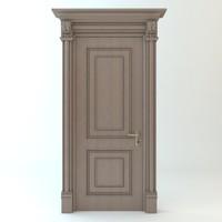 3d model door details