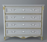 antique dresser 3d model