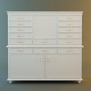 3d antique white
