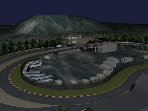 race track 3d 3ds