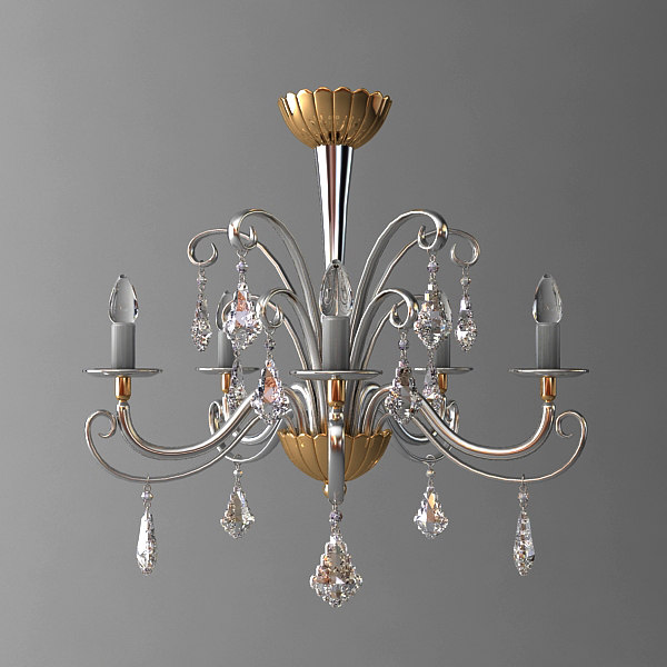 classical pendant light 3d 3ds