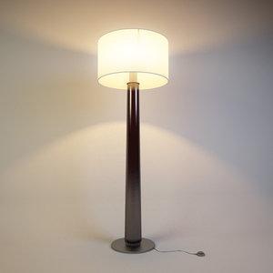 3d floor lamp zonca model