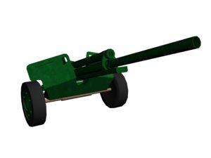 m5 cannon obj free