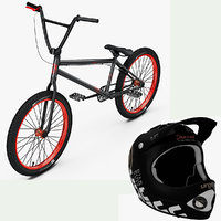 BMX Bike and Helmet Collection