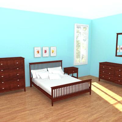 maya bedroom bed