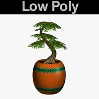 PL Low Poly Bonsai22