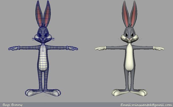 maya looney bugs bunny