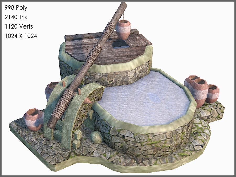 3d celtic games model