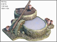 3d celtic games model