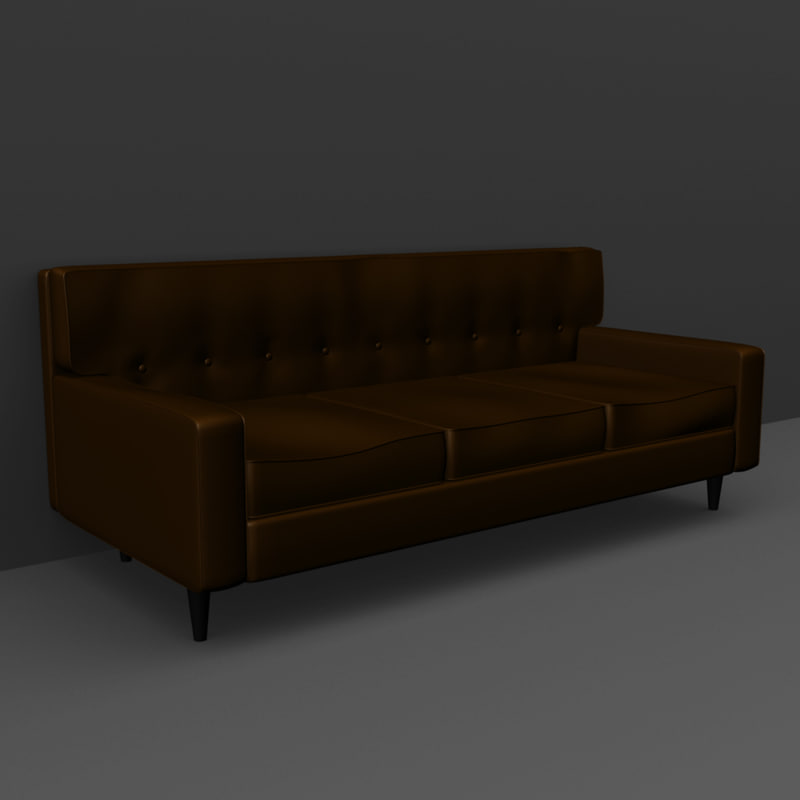 couch 3d obj