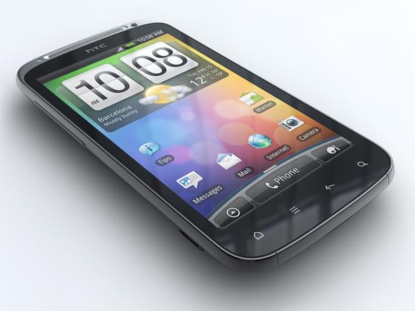 htc sensation mobile phone 3ds