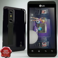 3d lg optimus model
