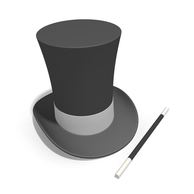 c4d magician hat