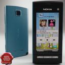 Nokia 5250 3D models