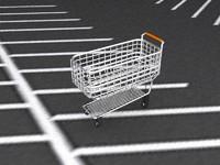 1950s Shopping Cart